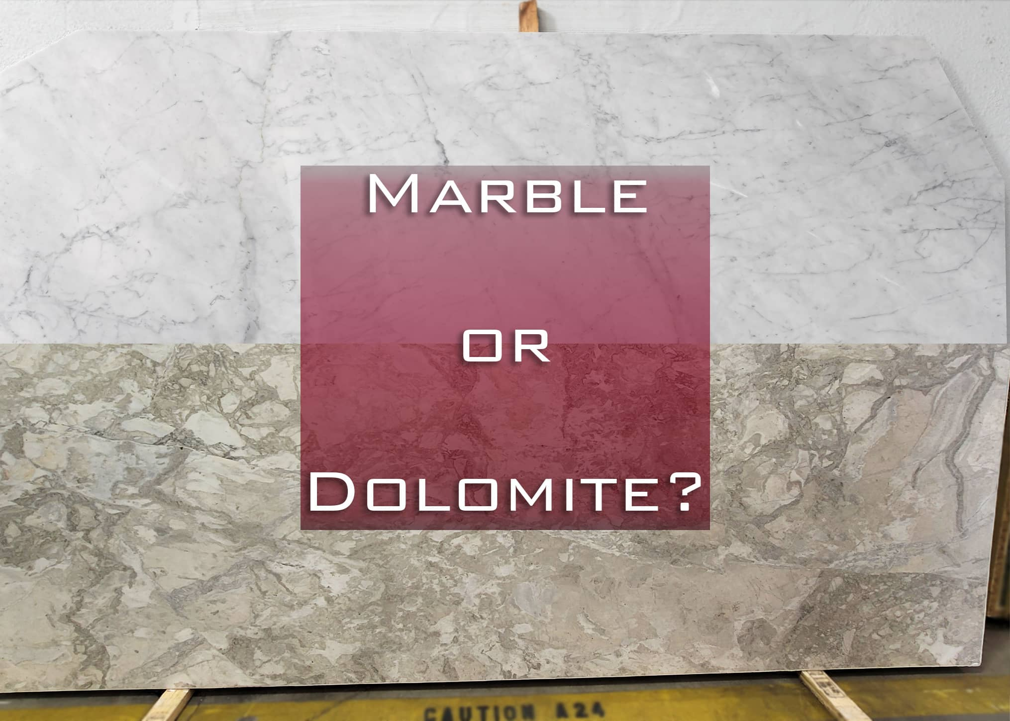 What is the Difference Between Marble and Dolomite Countertops?